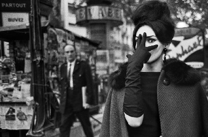 Nana, Place Blanche Parigi,  by Christer Strömholm, 1961
