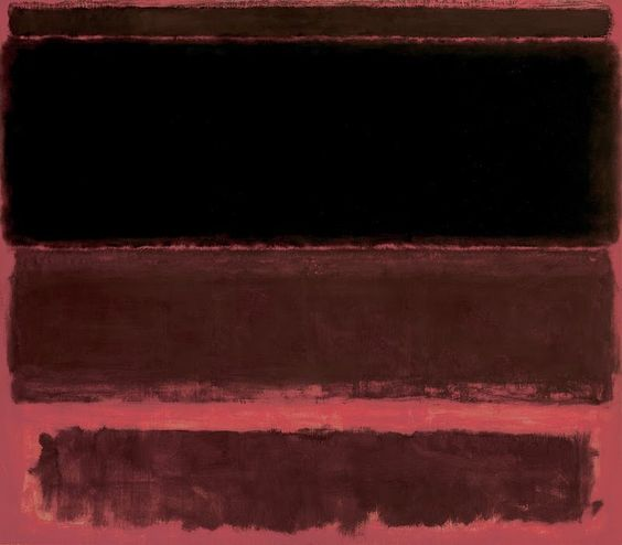 Four Darks in Red  , 1958,  Whitney Museum of American Art