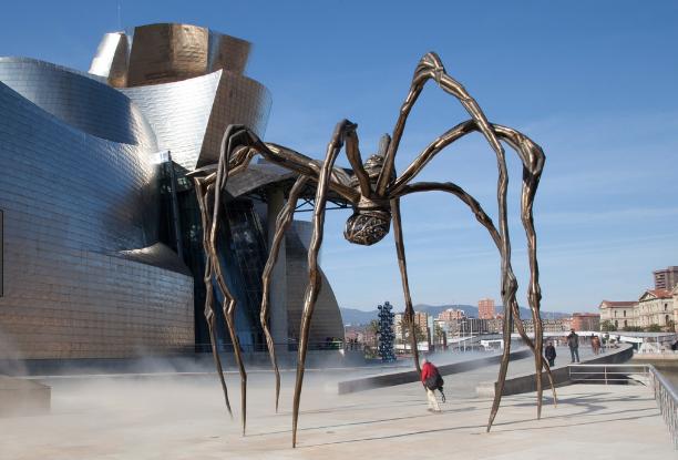 Guggenheim Museum / Louise Bourgeois' spider, Bilbao | by Richard Needham