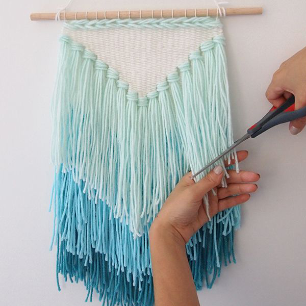 DIY Tassel Wall Hanging