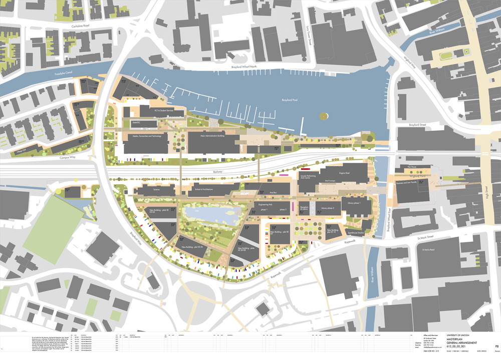 University of Lincoln Masterplan
