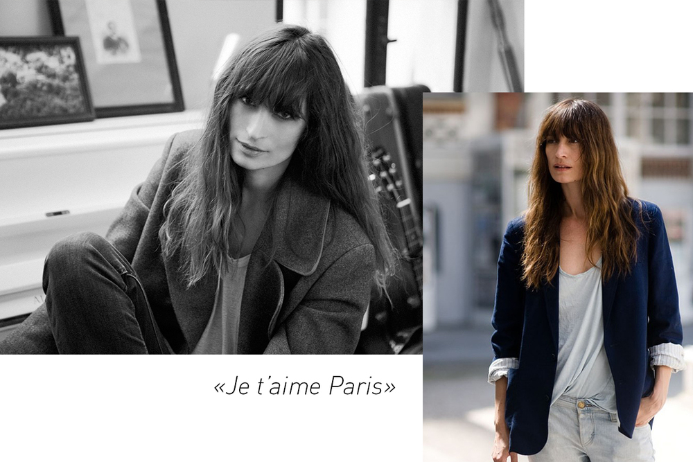 Caroline De Maigret. Ingen over, ingen ved siden av. Oser av fransk nonchalant sexy coolness!