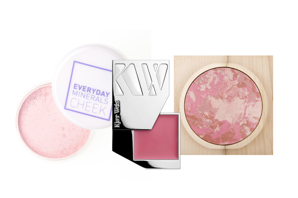 1. Everyday Minerals Cheek Blush/Rouge Kr 99,-   2. Kjær Weis Cream Blush Lovely Kr 659,-   3. Kide Blush Kissed Kr 599,-
