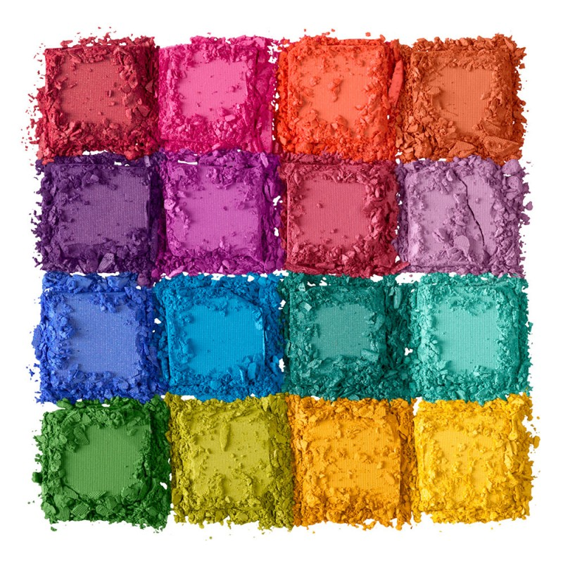 DARE TO BE DIFFERENT - Lek deg frem med regnbuens farger med NYX sin Ultimate Shadow Palette - Brights