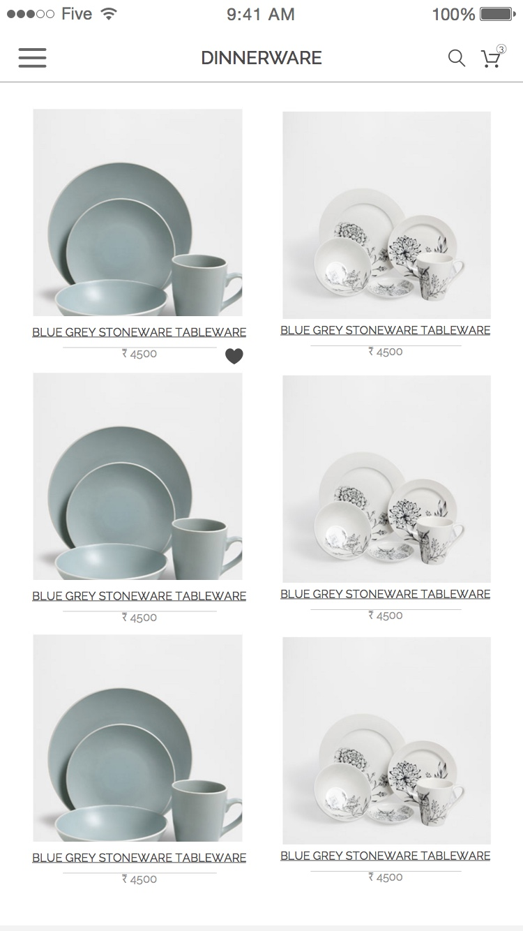 ... 7 product list view.jpg ...  sc 1 st  minimalist & Kitchen Dining and more - ecommerce website \u2014 MINIMALIST