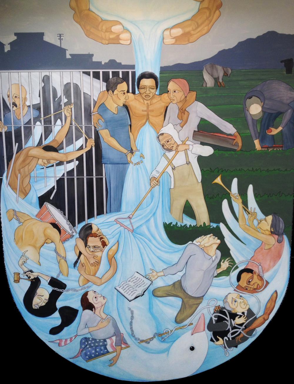 Tierra Nueva Mural ©  Troy Terpstra