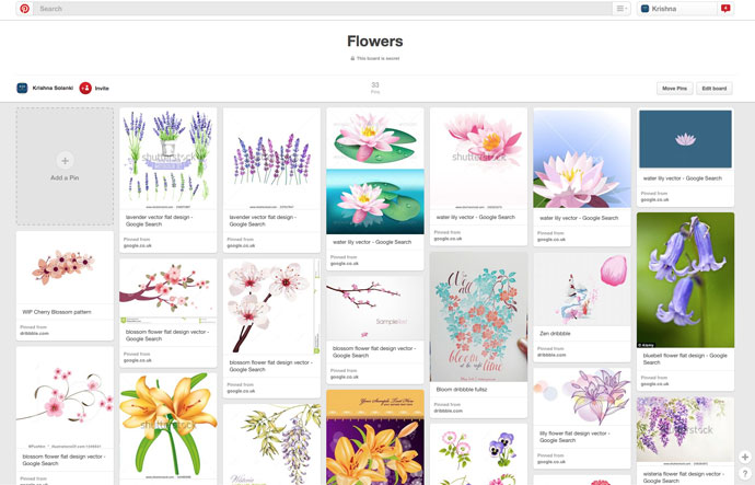 KSD_flowers_pinboard