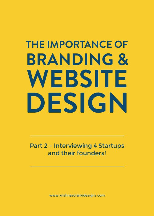 The importance of branding and website design - PART 2