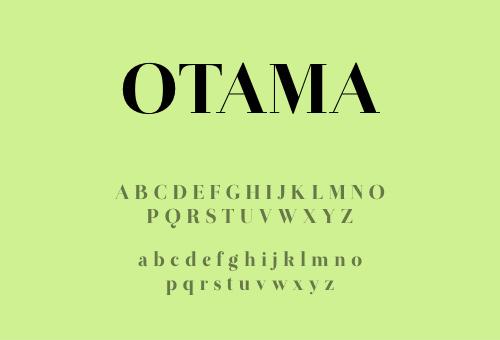 8 FREE Didot Style Fonts - Otama