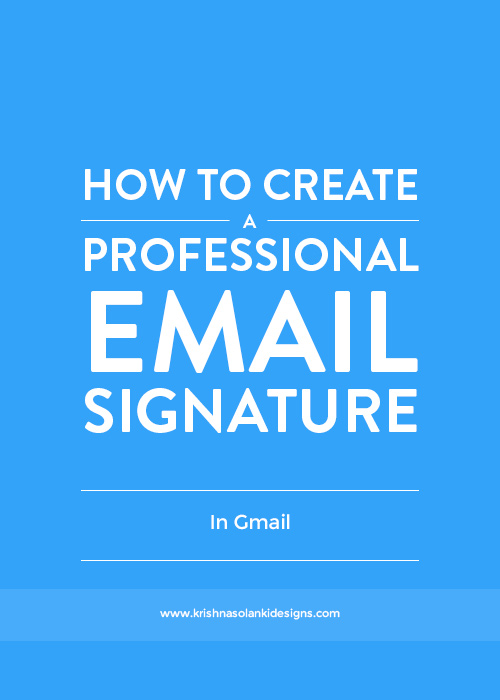 how to make my gmail signature work on outlook