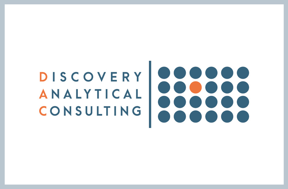 Krishna Solanki Designs - Discovery Analytical Consulting Ltd - Business card - front