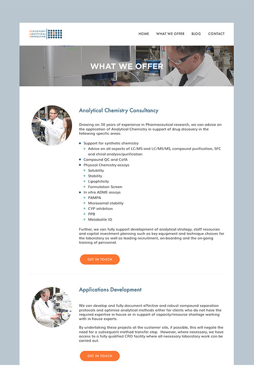 Krishna Solanki Designs - Discovery Analytical Consulting Ltd - Website Design - What We Offer.jpg
