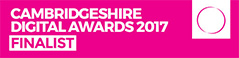Cambridgeshire Digital Awards 2017 - Small business category