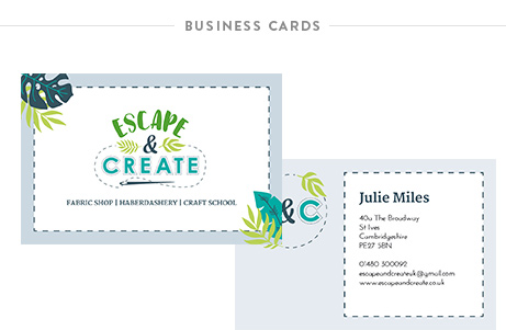 Krishna Solanki Designs - Escape and Create - Business cards.jpg