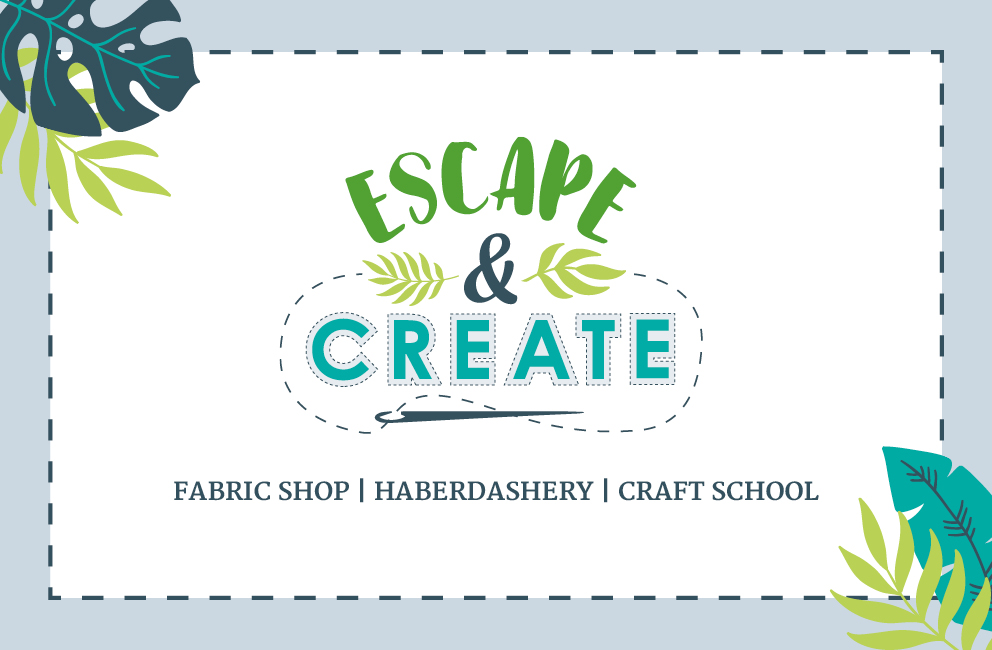 Krishna Solanki Designs - Escape & Create - Business card - front.jpg