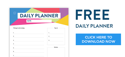 Krishna Solanki Designs   FREE Daily Planner   Download Now  Free Daily Planner Download