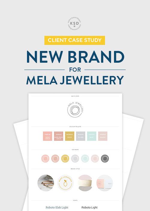 Krishna Solanki Designs New Mini Brand Identity For Mela Jewellery