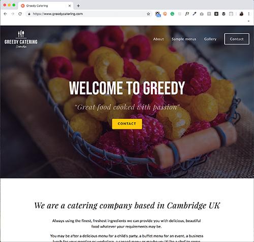 How To Create A Great User Experience For Your Website - Greedy Catering.jpg