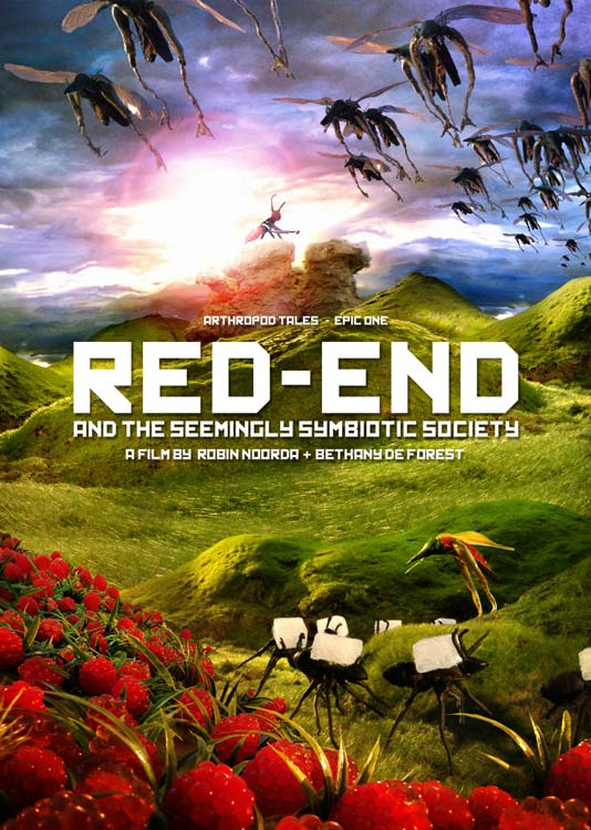 'Red-End and the seemingly simbiotic society' dvd €20