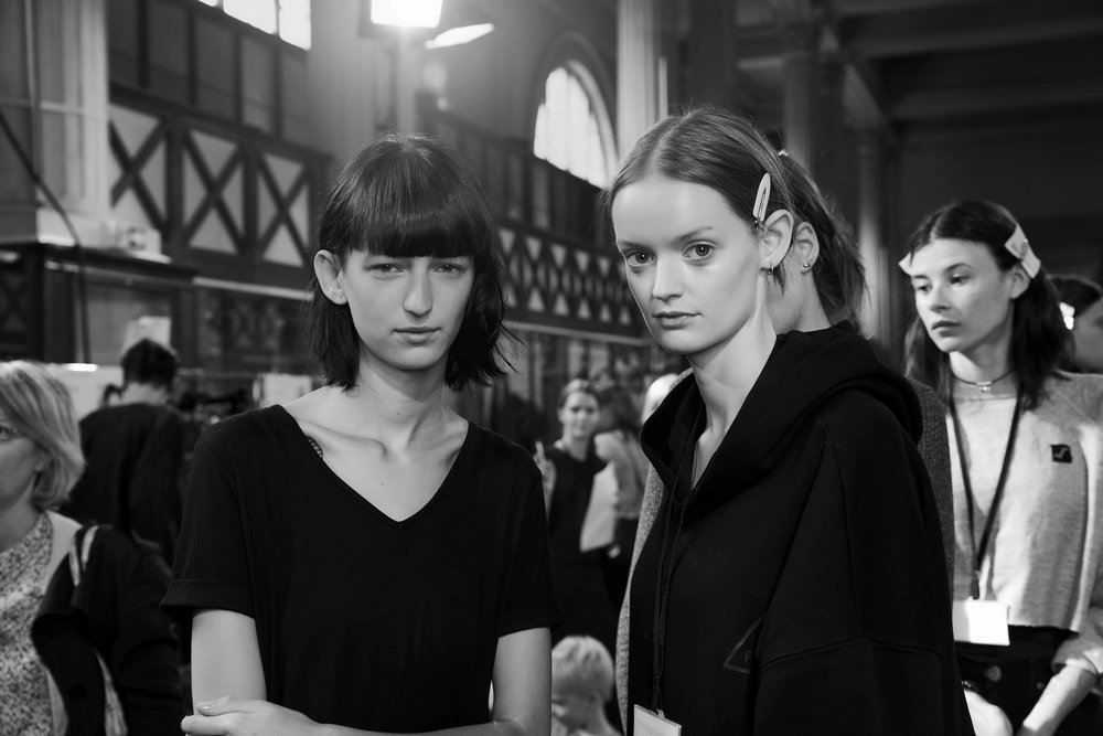 Christian Wijnants RTW Spring/Summer'17 Backstage