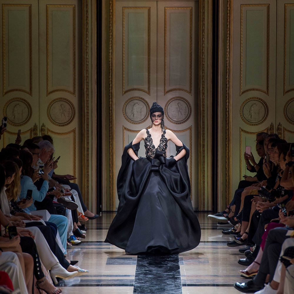 Giorgio Armani Privé Autumn/Winter'17 at Palais de Chaillot