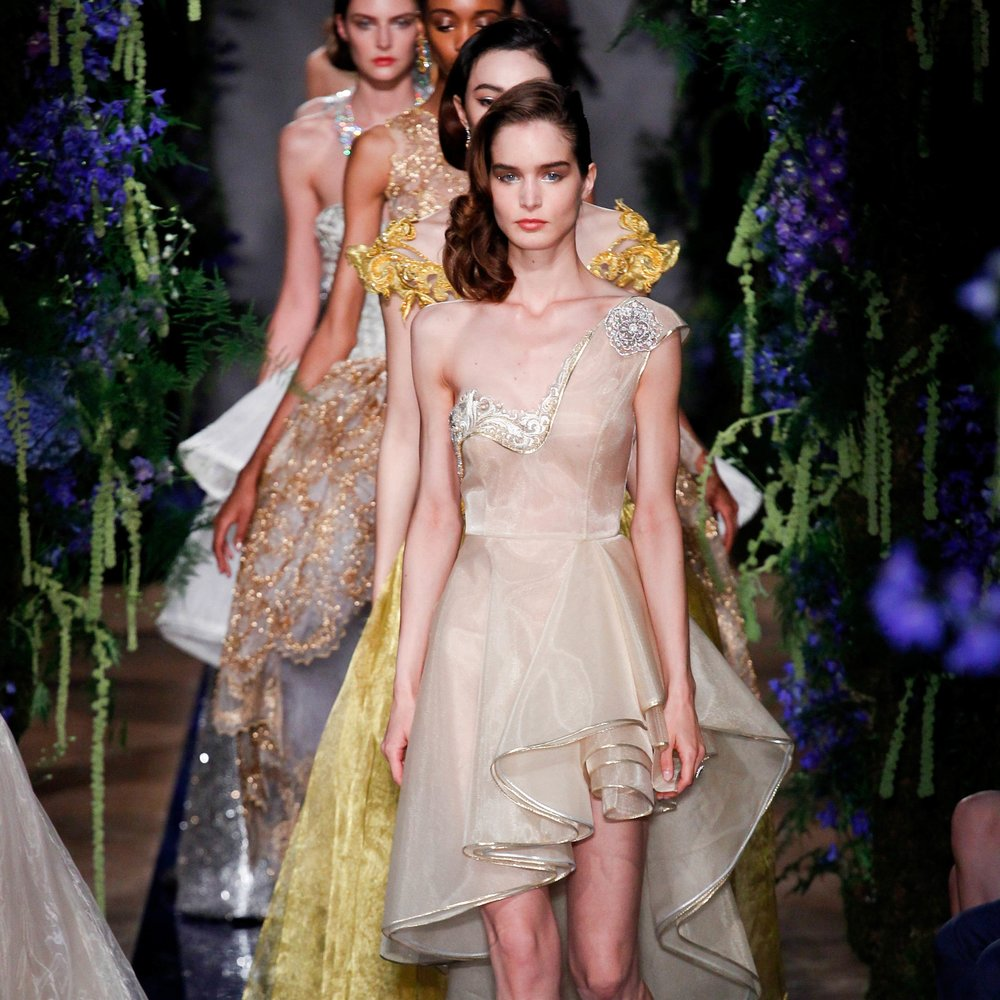 Guo Pei Haute Couture Autumn/Winter'17 at Hôtel Salomon de Rothschild