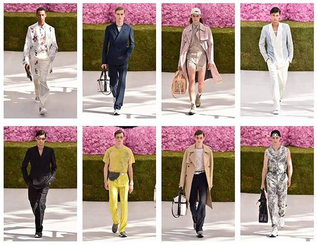 Dior Homme Spring/Summer'19 show #dior #homme #diorhomme #malemodels #christiandior #ParisFashionWeek #fashionweek #fashion #paris #runway #catwalkphotos #Catwalkpictures #mensweek #menswear
