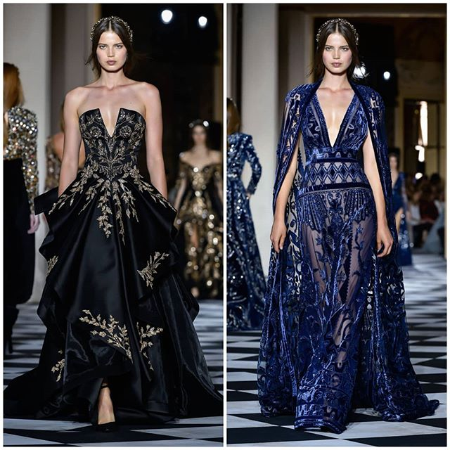 @sarinkaaaaa walked for @zuhairmuradofficial AW'18 Show #zuhairmurad #hautecouture #parisfashion #fashionweek #parisfashionweek #primeexposureimage #Catwalkpictures #runway #catwalk #autumnwinter18