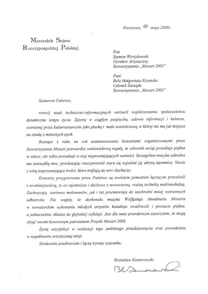 Opinia Bronisław Komorowski - Marszałek Sejmu.jpg