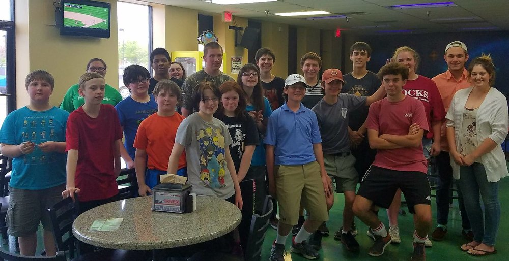 Louisville Youth Collaborative Laser Tag
