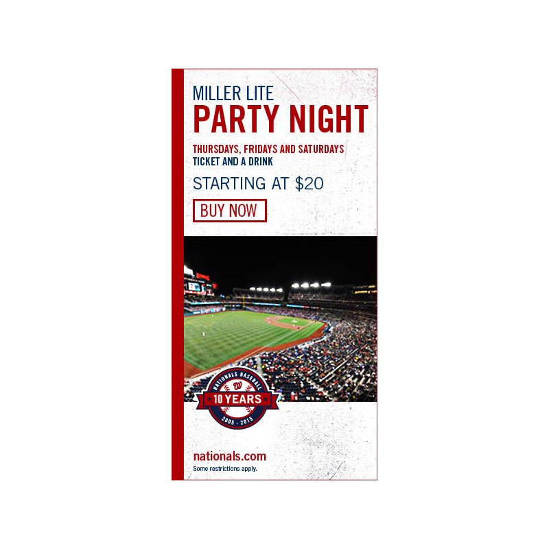 Nationals Web Banners