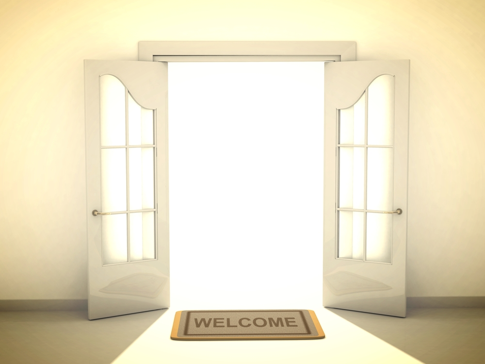 ... Open Door Welcome & Open Door Welcome Front To Design Decorating Pezcame.Com