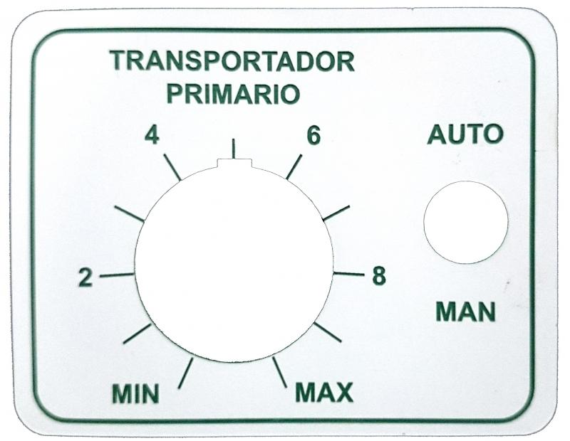 Laser engraved plate for a conveyor belt