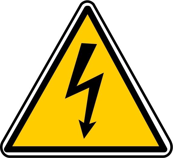 """Electrical danger"" Pictogram"