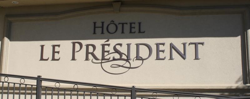 L'Hôtel Le Président a fait appel à nous et à notre expertise pour plusieurs de leur projet.
