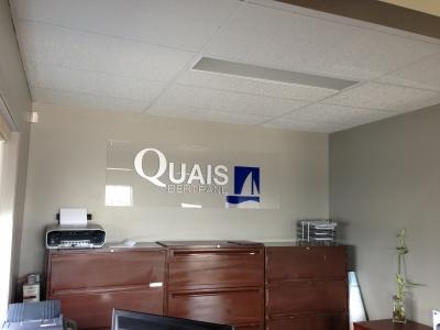 Logo des Quais Bertand dans leurs bureaux