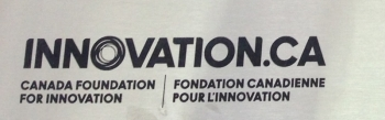 Lettrage de la fondation canadienne Innovation.ca