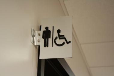 Affichage des toilettes pour Homme