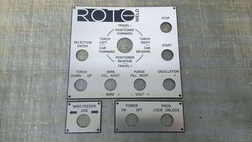 Panneau de contrôle pour machinerie industrielle