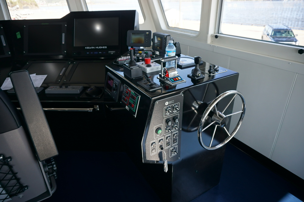 Different control panel installed in the same boat