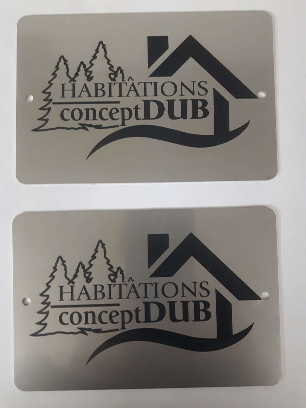Laser marked stainless steel tags