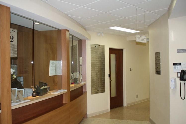 Affichage entré Clinique Santé Jacques-Cartier