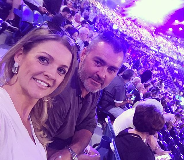 Men's final date night! #ausopen #guysabastian