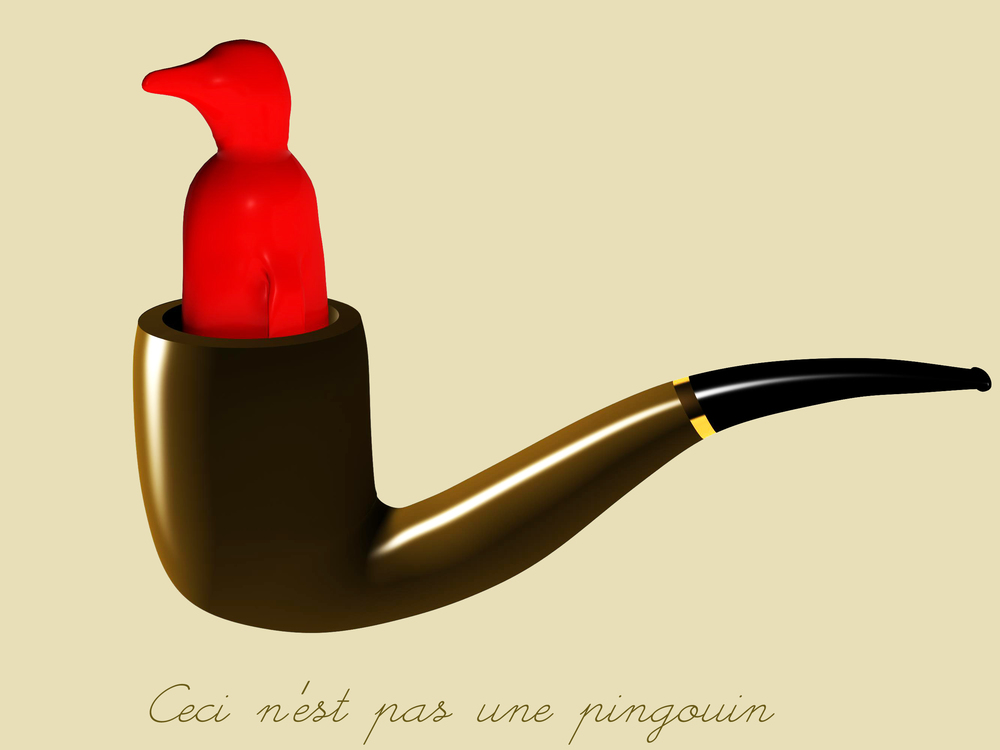 Ceci Ne'st Pas Une Pingouin