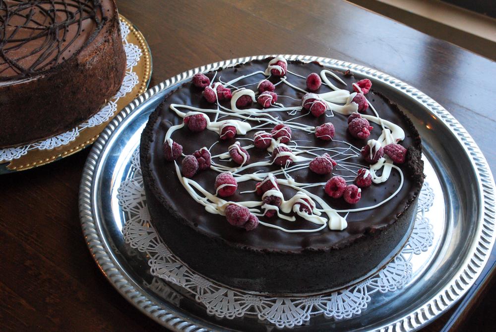White Chocolate Raspberry Mousse