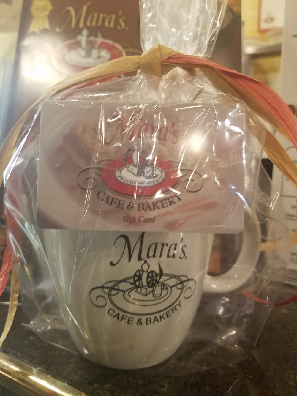 Mara's Mug of Good Taste - $7.99 + Gift card amount(available in any denomination)