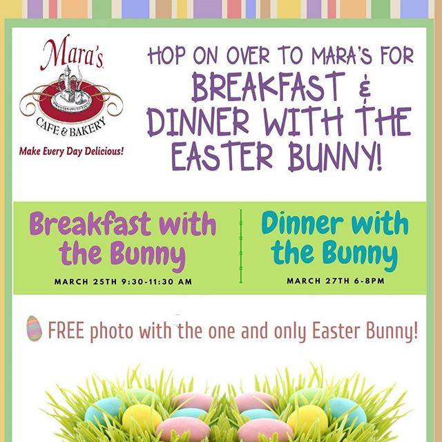 Don't miss the bunny!