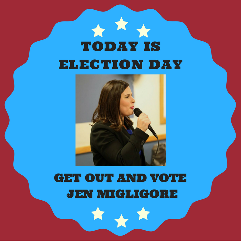 Jen Migliore Election Day.png