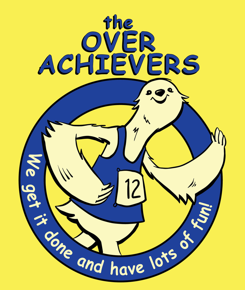 the Over Achievers on Yellow.jpg