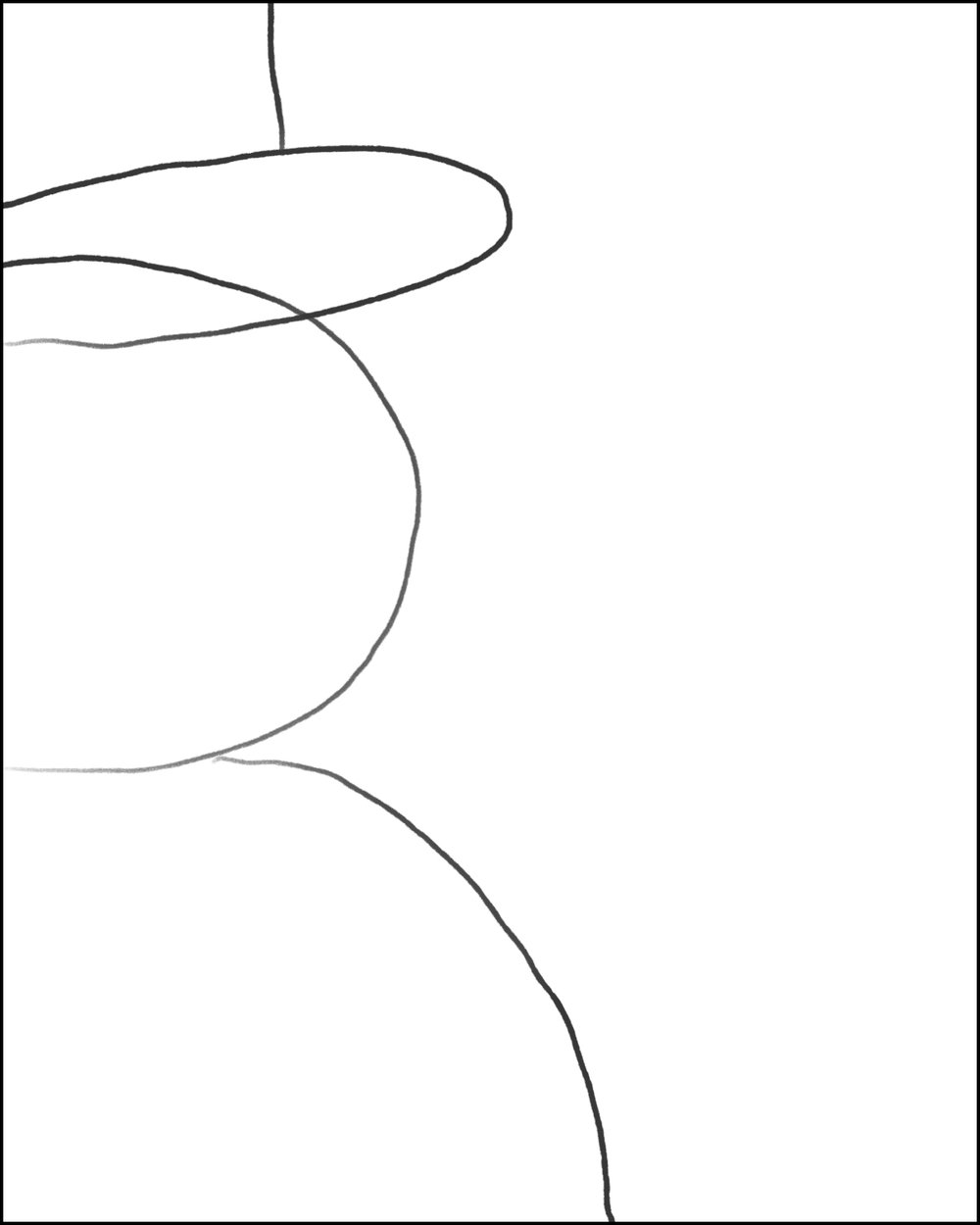 Step 4: Draw Line to Top of Canvas